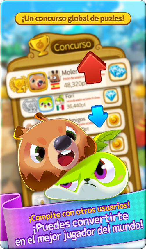 A global Puzzle game contest! Play and see where you rank!